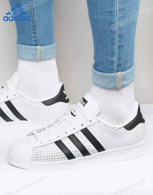 Adidas Originals Superstar Blanc ∗ (Adidas Soldes) - Adidas Originals Superstar Blanc ∗ (Adidas Soldes)-01-0