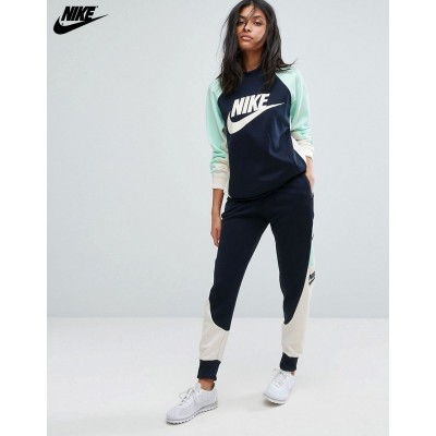 Nike Rally Sweatshirt et pantalon de jogging color block // {Nike Boutique En Ligne}-20