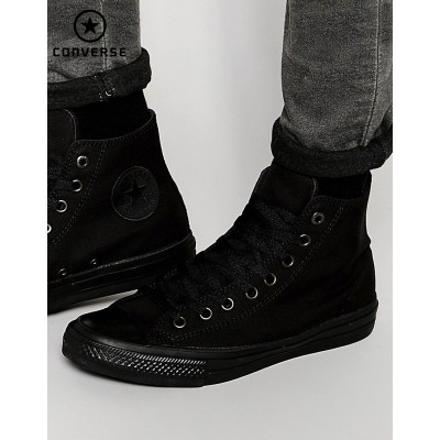 Converse Chuck Taylor All Star II Tennis montantes Noir 151221C {Converse Promotion}-20
