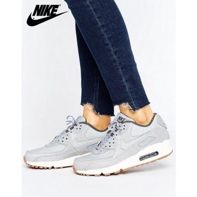 {Boutique Nike} Nike Air Max 90 Premium Baskets Gris-20