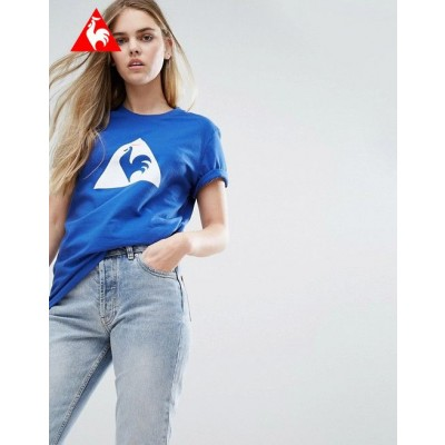 Le Coq Sportif T-shirt coupe boyfriend avec grand logo color block Un choix intelligent-20