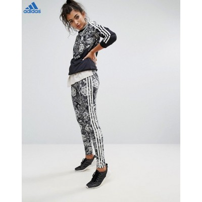 Promo Adidas Adidas Originals Farm Leggings à motif floral placé-20