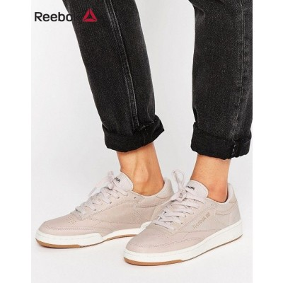 Reebok Club C Baskets Blush et or rose & {Basket Reebok Pas Cher}-20