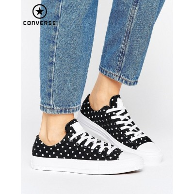 {Code Promo Converse} Converse Chuck Taylor All Star II Ox Baskets Pois-20