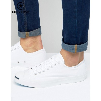 Converse Jack Purcell Ox Tennis Blanc 1Q698 {Converse Soldes France}-20