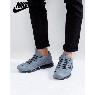 [Basket Nike Solde] Nike Air Max More Baskets Gris-20