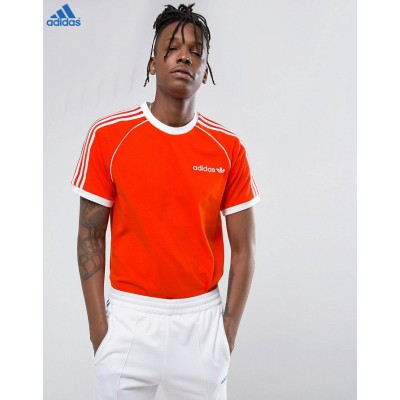 Adidas Originals Osaka California T-shirt Orange & [Code Promo Adidas]-20