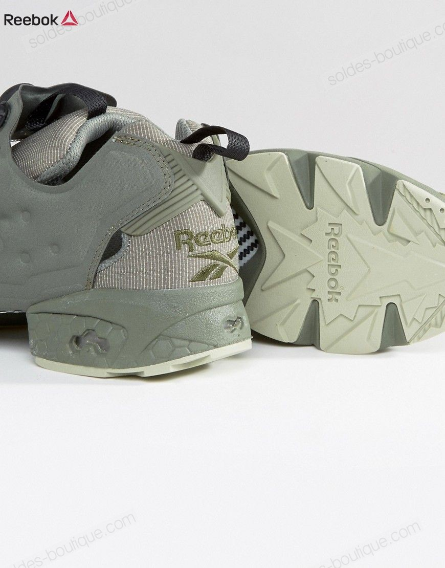 {Reebok Site Officiel} ∗ Reebok Instapump Fury BD1501 - Baskets - Vert - {Reebok Site Officiel} ∗ Reebok Instapump Fury BD1501 Baskets Vert-01-4