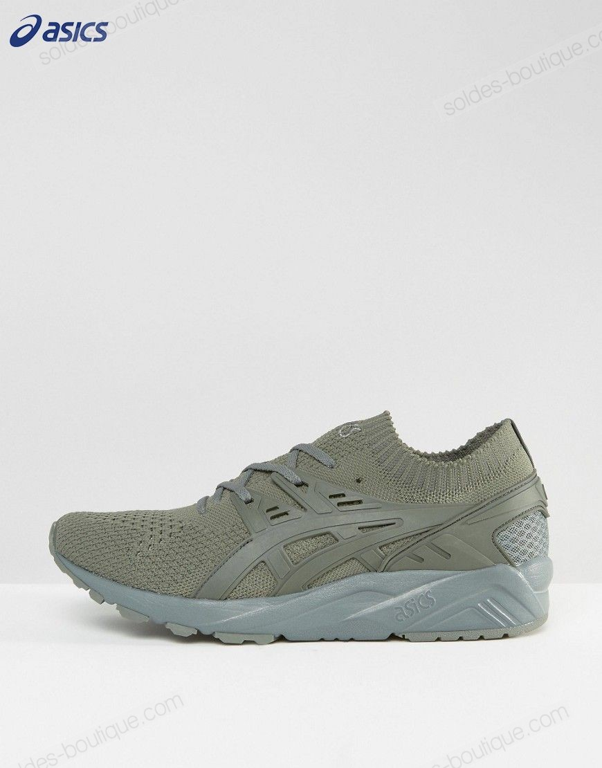 Asics Chaussures - Gel-Kayano // Baskets en maille - Vert H705N 8181 Asics En Promotion - Asics Chaussures Gel-Kayano // Baskets en maille Vert H705N 8181 Asics En Promotion-01-1