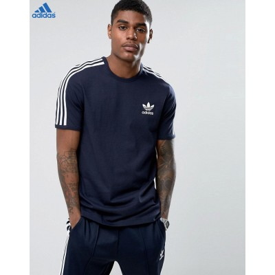 Adidas Originals London Pack T-shirt à motif graphique Bleu-20